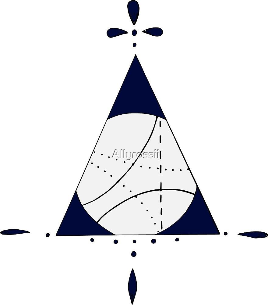 Triangular circle  by Allyrossii