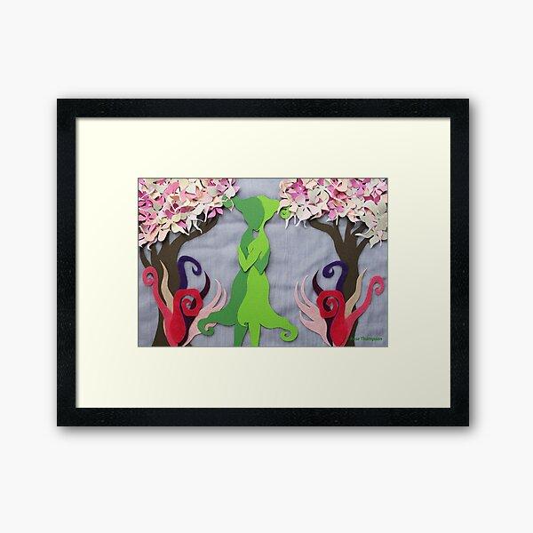 Spring Kiss #2 Framed Art Print