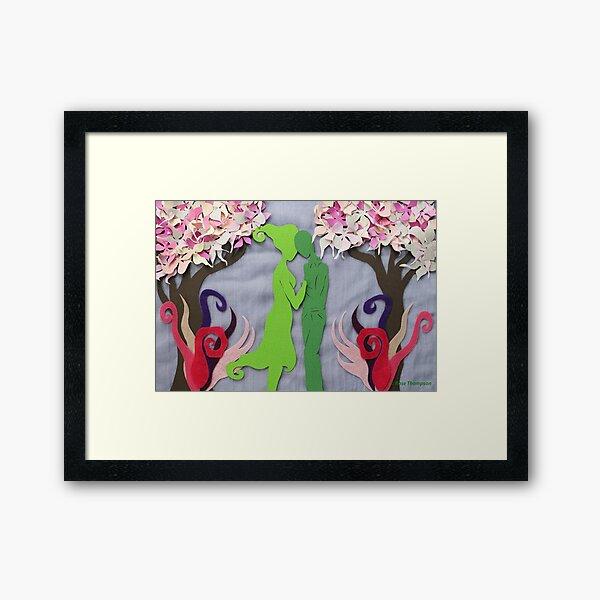 Spring Kiss #3 Framed Art Print
