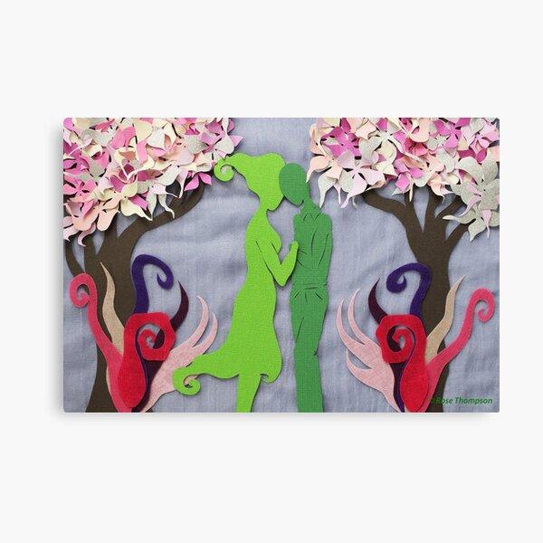 Spring Kiss #3 Canvas Print