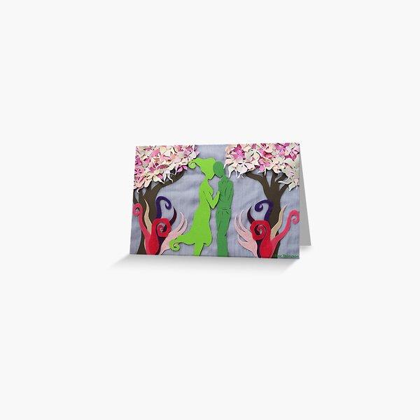 Spring Kiss #3 Greeting Card