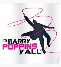 fly with poppins Poster