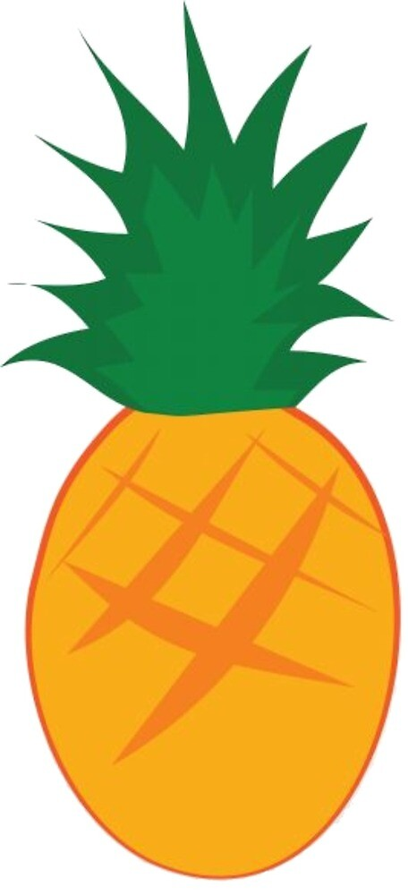 Pineapple without writing by AnanasSaft