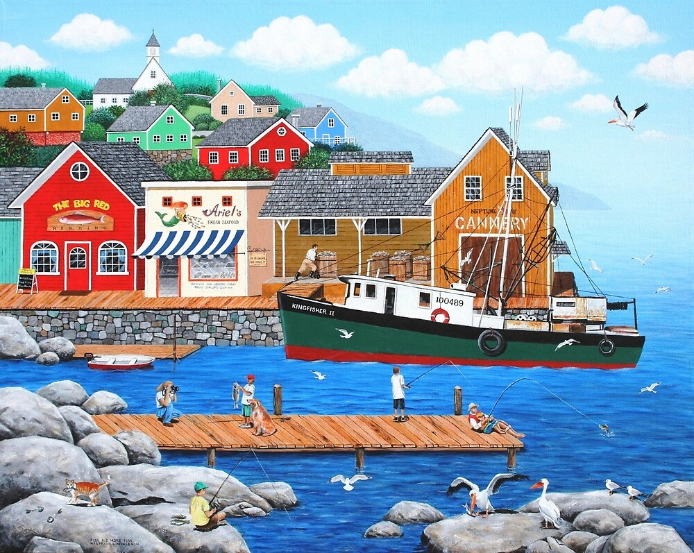 Fish and More Fish by kirbeekatz