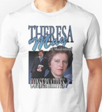 THERESA MAY CONSERVATIVES VINTAGE Tee T-Shirt