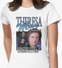 THERESA MAY CONSERVATIVES VINTAGE Tee Womens Fitted T-Shirt