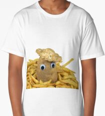 Golden French Fries Long T-Shirt