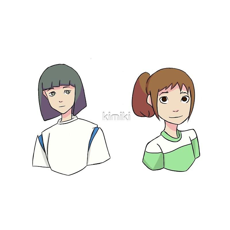 Haku & Chihiro by kimiki