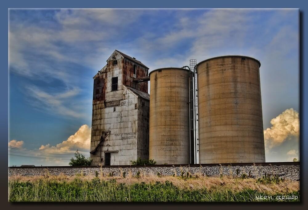 Grain Elevator by Sheryl Gerhard
