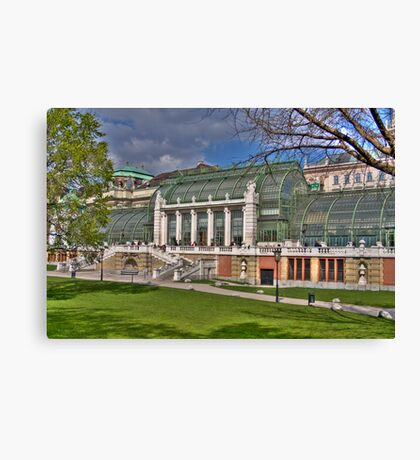 Palmenhaus - Burggarten Canvas Print