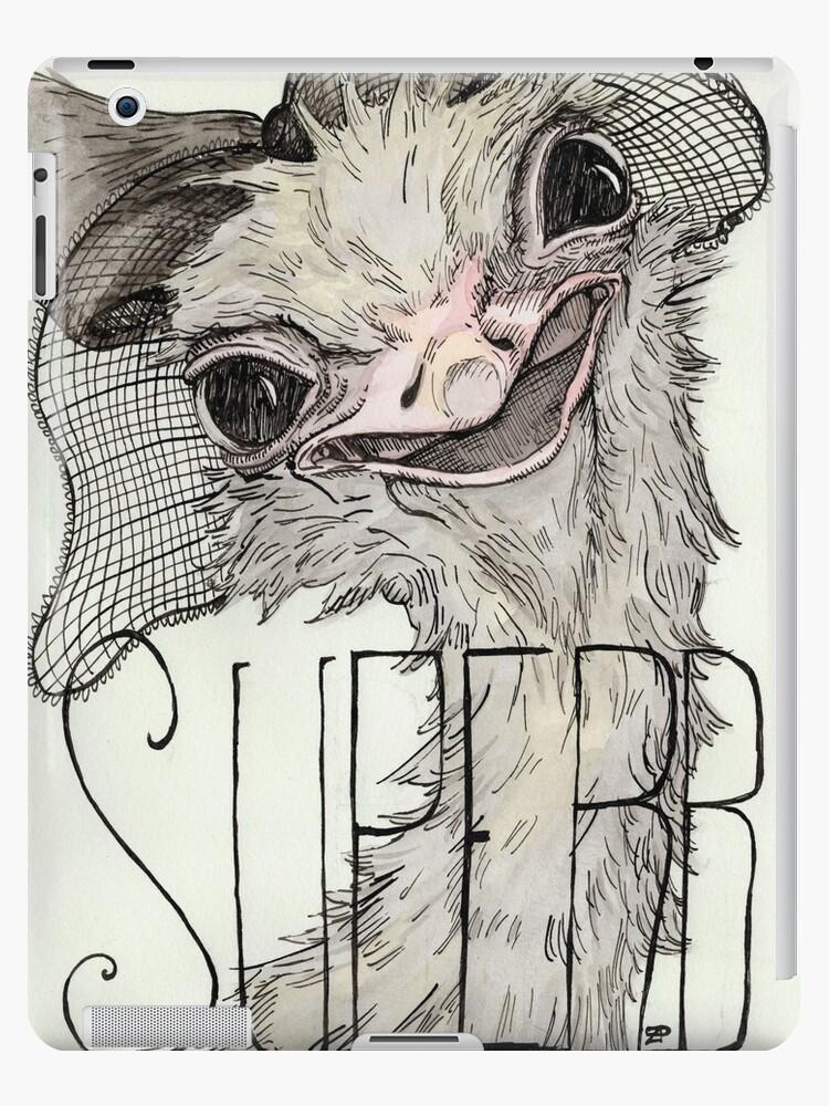 Superb Ostrich by Zoe Polando