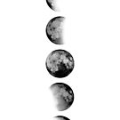 MOON PHASES by NORDIKART