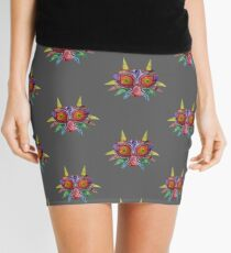 Majora's Mask Splatter Mini Skirt