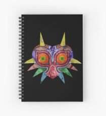 Majora's Mask Splatter Spiral Notebook