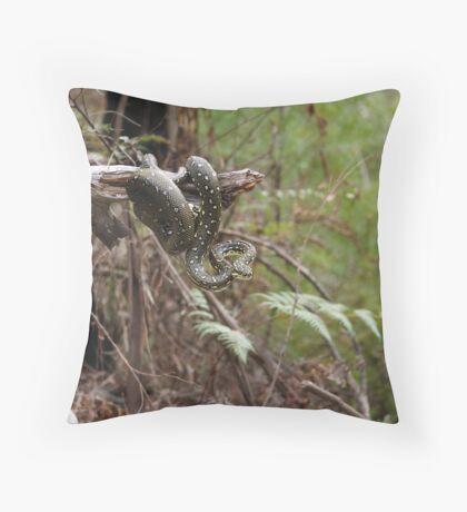 Local Diamond Python Throw Pillow