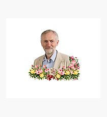 Jeremy Corbyn - Wholesome and Pure Photographic Print