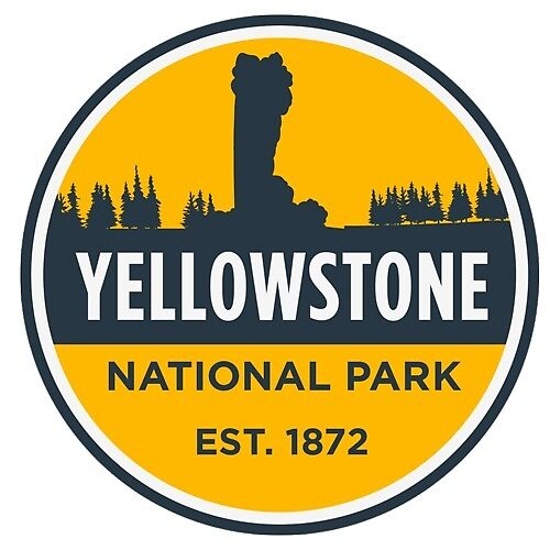 Yellowstone National Park Badge by elemental221b