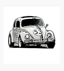 Love Bug Sketch Photographic Print