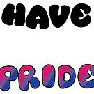 Have Pride - Bisexual by Sam Will
