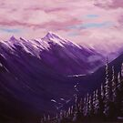 View From Sulphur Mountain by Michael Beckett