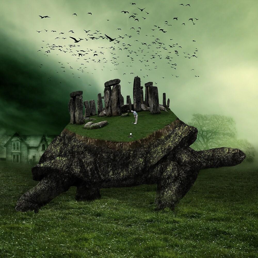 Druid Golf by Marian  Voicu