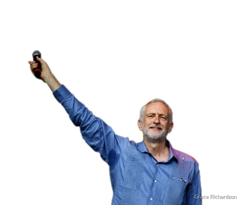 Jeremy Corbyn - for the many pit stains not the few by Grace Richardson