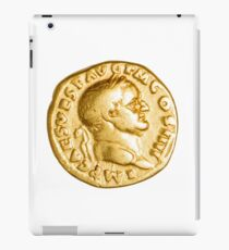 The Emperor and Nike. Roman gold coin  iPad Case/Skin