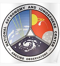 Nationales Zentrum für Astronomie und Ionosphäre (NAIC) Poster