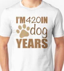 60th Birthday Dog Years Unisex T-Shirt