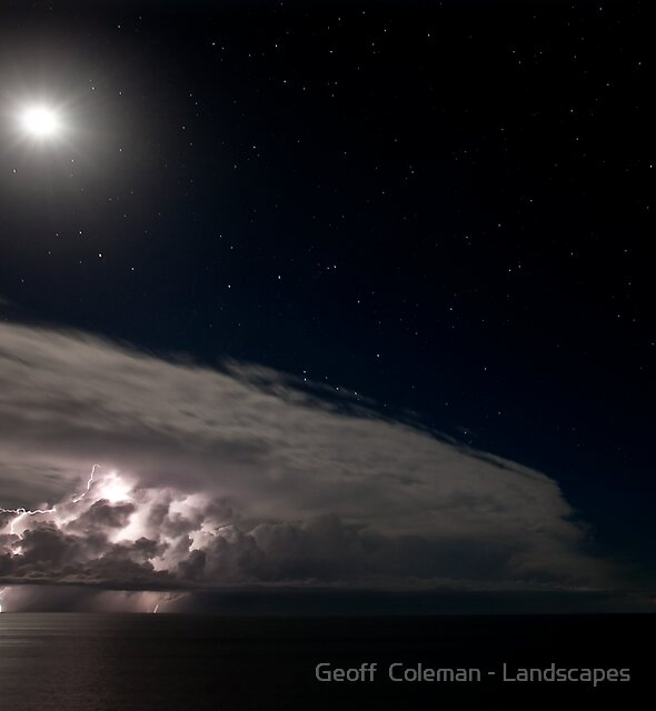 The Raging Stillness by Geoff  Coleman - Landscapes