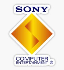 Retro Sony Computer Entertainment Playstation 1 PSX PS1 Sticker