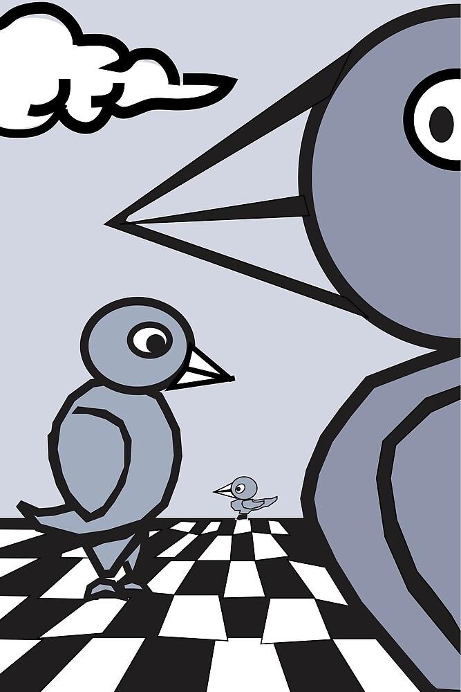 Balanced Birds 003 by djzombie