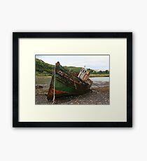 Kerrera Wreck Framed Print