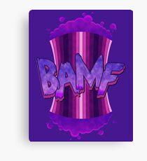 BAMF! Canvas Print
