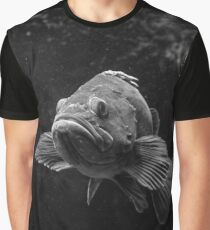 Fish in the Dark Sea Graphic T-Shirt