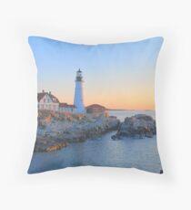 Portland Head Light - Portland Maine Throw Pillow
