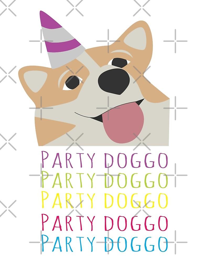 PARTY DOGGO by SadCaptain