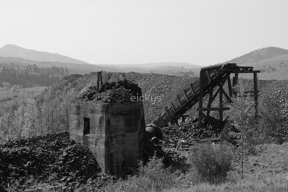 United States Colorado Victor Ghost Town Mining by eickys