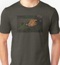 hiking boots Unisex T-Shirt