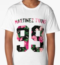 Martinez Twins - Colorful Flowers Long T-Shirt