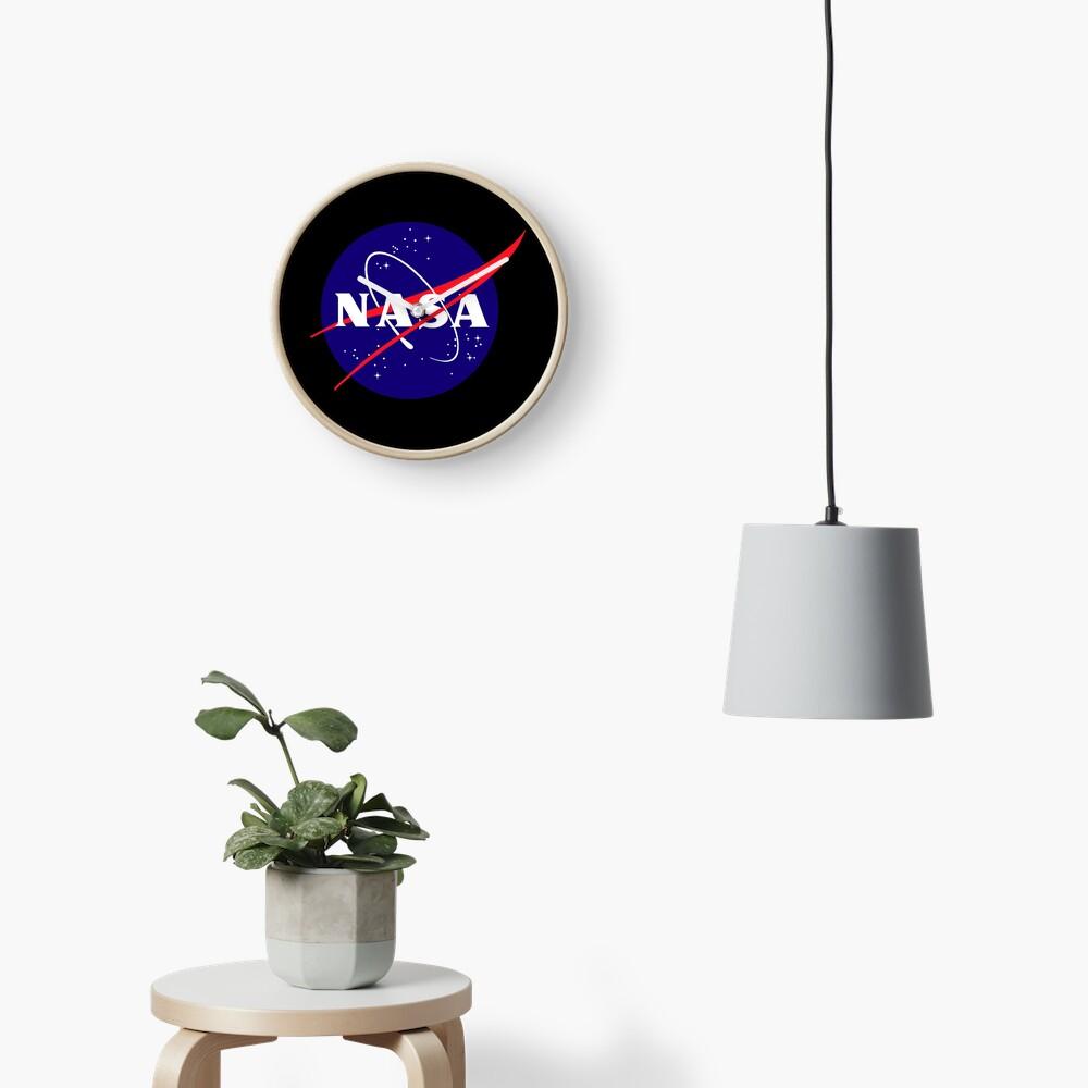 Official NASA (meatball) Logo Clock