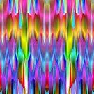Colorful digital art splashing G488 by MEDUSA GraphicART