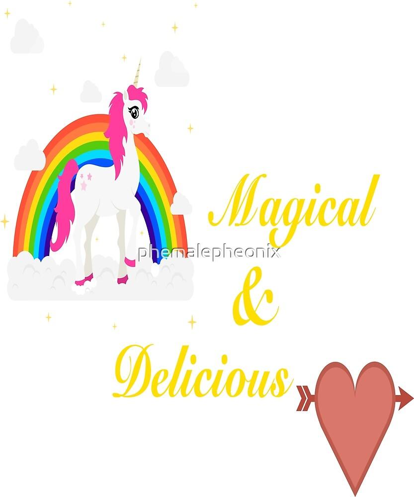 GAY PRIDE 2017 LGBTQ magical & delicious T-SHIRT by phemalepheonix