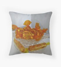 Toffee Pennies and Toffee Thins Throw Pillow