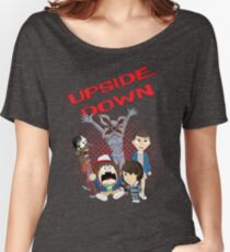Upside Down Mash Up Women's Relaxed Fit T-Shirt