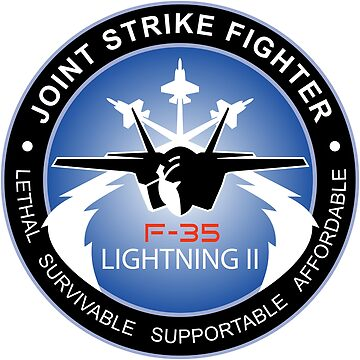F-35 Lightning II Program Logo by Spacestuffplus