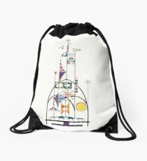 Tower of the Four Winds Drawstring Bag