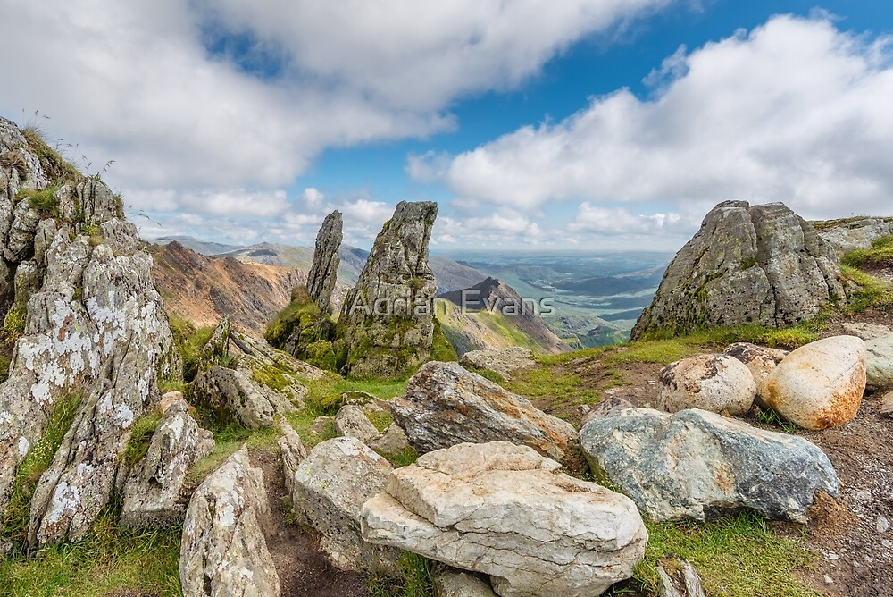 View from the Summit by Adrian Evans