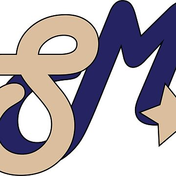 Super Millennion Lettermark Khaki/Blue by Millennion