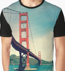 View of the Golden Gate Bridge Graphic T-Shirt